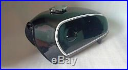 Fit for Bmw R75/5 Black Painted Aluminum Fuel Petrol Tank 1972 Model