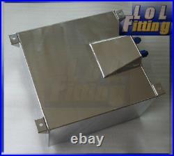 Fuel Cell 40L Litre 10 Gallon Aluminum Fuel Tank + Sender & Internal Foam Layer