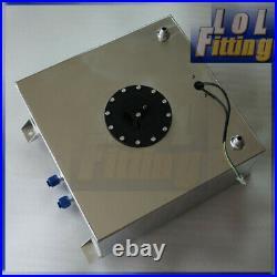 Fuel Cell 60L Litre 15 Gallon Aluminum Fuel Tank + Sender & Internal Foam Layer