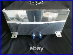 Fuel Tank Fabricated Aluminium 80 Ltrs With Sender Holden Torana Ford Drag
