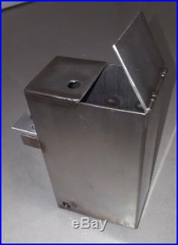Fuel tank with aluminium block for waste engine oil free heat Altölbrenner