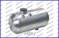 Gassers Fuel Tank 2 1/4 Gallons Spun Aluminum 8 X 12 Inch Billet Cap
