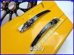 Genuine Harley CVO Touring Eagle Head Fuel Gas Tank Set Emblems Badges