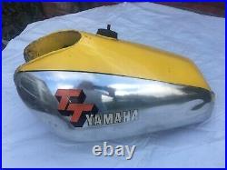 Genuine Yamaha TT500 Aluminium Tank