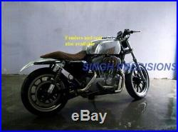 HARLEY SPORTSTER ALUMINIUM TANK CAFE RACER 883 1200 xl n iron HD BOBBER gas