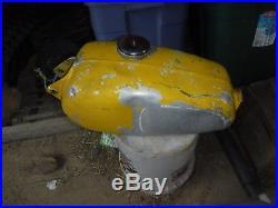 HUSQVARNA CR 125 197-79 vintage AHRMA aluminum gas/fuel petrol tank/cap