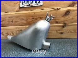 Harley, Chopper, Flotteur Gas Réservoir Aluminium, Frisco Style