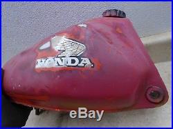 Honda 125 CR CR125 Aluminum Alloy Gas Fuel Tank 1979 #WD-28