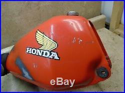 Honda 250 CR CR250-R ELSINORE Nice Alloy Aluminum Gas Fuel Tank 1979 HB504 WD