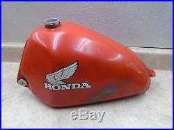 Honda 250 CR ELSINORE CR250 Good Original Aluminum Gas Fuel Tank 1979 SE HB406