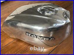 Honda CB 750 KZ RC01 Benzintank Aluminium