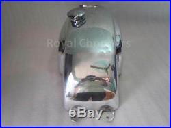 Honda Cb Xs Manx Style Aluminum Alloy Cafe Racer Fuel Tank + Monza Cap Auto Edh
