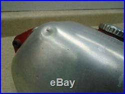 Husqvarna Husky CR360 CR250 OEM gas Fuel Tank Alloy Aluminum 1976 WD-128