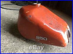 Husqvarna WR250, CR250 Aluminium Fuel Tank, Genuine OE, Vintage Mx Twinshock