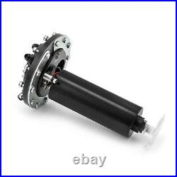 In-Tank Single Fuel Pump Billet Aluminum Black