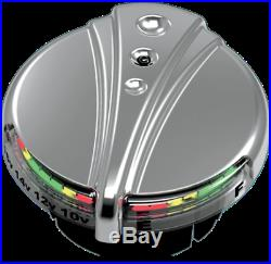 Kuryakyn DECO LED Fuel/Battery Gauge 96-17 Harley DYNA Softail FLSTF FLS 7281