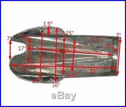 Mojave Yamaha Ducati Cafe Racer Alloy Aluminium Gas Petrol Fuel Tank With Cap