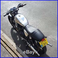 Motone Triumph Bonneville EFI Fuel/Gas Tank Polished Aluminium T100/Thruxton/SE
