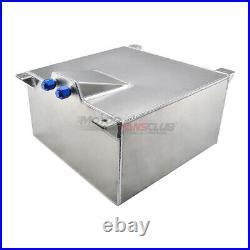 Motorfansclub Fuel Cell 40L Litre 10 Gallon Aluminum Fuel Tank + Sender UK Stock