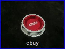 Muge Oil Filler Cap Radiator Aluminium for Type R Civic Fn2 Integra Ep3 EK9 Red