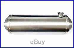 New 11 Gallon 10 x 33 Spun Aluminum Hotrod Streetrod Fuel Gas / Tank Universal