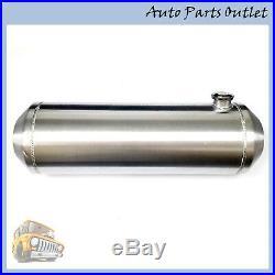 New Spun Aluminum Hotrod Streetrod Fuel Tank Gas Tank, 11 Gallon, 10 x 33 Inch