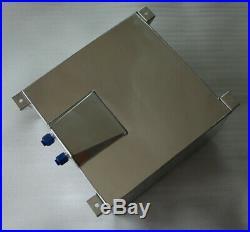 New Universal Aluminum 15 Gallon Fuel Cell Tank + GM Sending Unit + Safety Foam