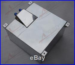 Non Sensor Mirror Polished Aluminum 60L /15 Gallon Fuel Cell Tank UK