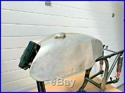 Norton Cafe Racer Aluminium Fuel Petrol Tank & Cap