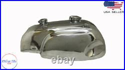 Norton Manx Wideline Featherbed Triton Aluminium Gas Fuel Petrol tank(Fits For)
