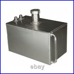 OBP 2 Gallon Square Aluminium JIC Fuel Tank