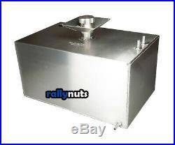 OBP 8 Gallon Baffled Aluminium Fuel Tank c/w Filler Bowl and Sender Hole