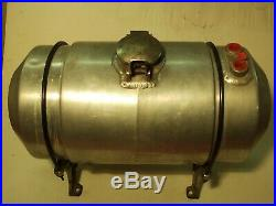 Original 1960's Eelco Aluminum Fuel Tank 3.5gal. Street Rod Gasser