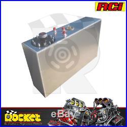 RCI Aluminium Street Rod Fuel Cell with Sender (64L) RCI2171A