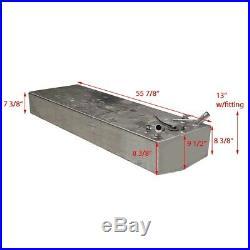 RDS Boat Fuel Gas Tank 300411 Gekko Aluminum 35 Gallon
