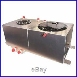 Rhodes Race Cars 21-0109 5 Gallon Ice/Water & Fuel Cell Combo Tank 5051 Aluminum