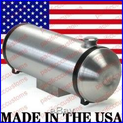 Spun Aluminum Fuel Tank With Sump For Fuel Injection 8 X 36 Inch End Fill