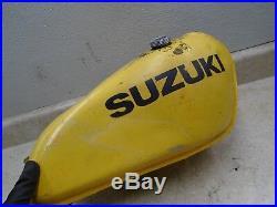 Suzuki 250 RM AHRMA RM250 Used Aluminum Gas Fuel Tank 1977 WD SB102