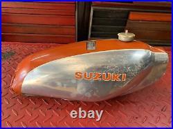 Suzuki RL250 Trials Aluminum Alloy Gas Fuel Tank