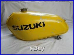 Suzuki used, RM100, RM125, 1976-77, Fuel / Gas Tank, Aluminum, (RG)