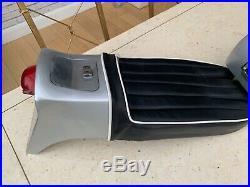 Triton aluminium fuel tank & fibre glass seat unit ready to fit classic triumph