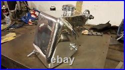 Triton or norton aluminum oil tank