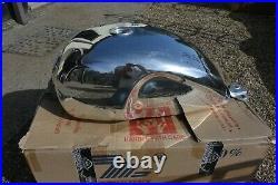Triumph Petrol Tank Motone Polished Aluminium