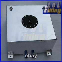 UK Fuel Cell 60L Litre 15 Gallon Aluminum Fuel Cell Tank + Internal Foam Layer