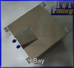 UK SHIP 15 Gallon Fuel Cell Tank Lightweight Aluminum + GM Sending Unit