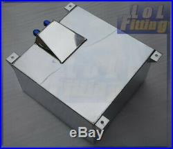 UK SHIP Non Sensor Mirror Polished Aluminum 60L /15 Gallon Fuel Cell Tank