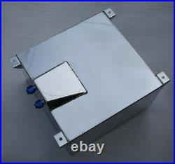UK Universal 40L / 10 Gallon Fuel Cell Tank Lightweight Aluminum With Foam Layer