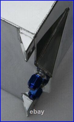 UK Universal Aluminum 10 Gallon (40L) Racing Drift Fuel Cell Tank & Foam Inside