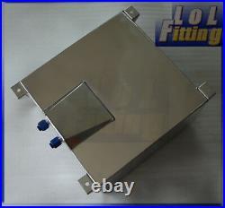 UK Universal Lightweight Aluminum 10 Gallon Fuel Cell Tank + GM Sending Unit