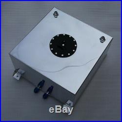 UK Universal Lightweight Aluminum 60L / 15 Gallon Fuel Cell Tank + Safety Foam